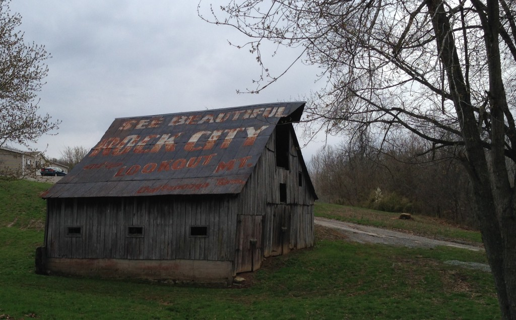 See Beautiful Rock City Barn